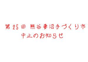 中止(25回)