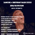 SANCHE☆B.B161009
