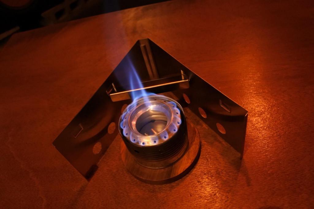 燃焼実験②