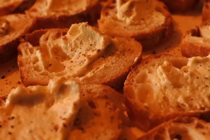 牡蠣のクリームチーズパテ