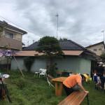 裏庭BBQ①(20180902)