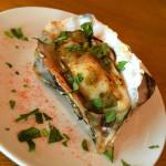 牡蠣のエスニックハーブ焼き
